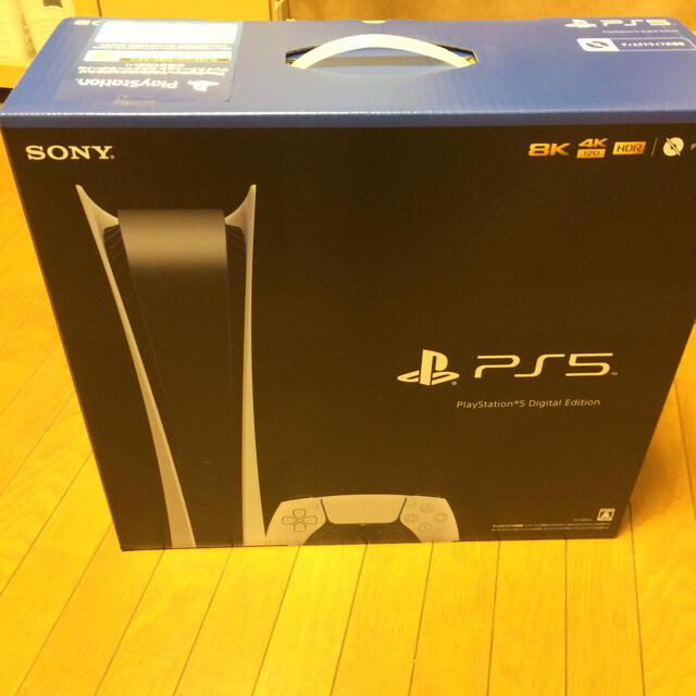 ソニーPS5 未使用品ディスクドライブ無し エンタメ/ホビーのゲームソフト/ゲーム機本体(家庭用ゲーム機本体)の商品写真