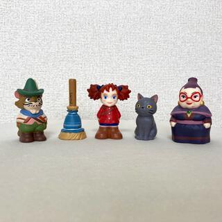 ジブリ(ジブリ)のジブリ メアリと魔女の花 指人形5体セット(キャラクターグッズ)