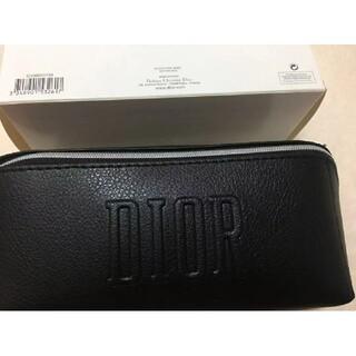Christian Dior - DIOR 限定ポーチ 黒 未使用