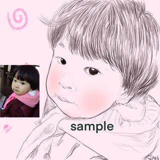 イラスト、似顔絵、夢絵を描きます。(1人 簡単色)(アート/写真)