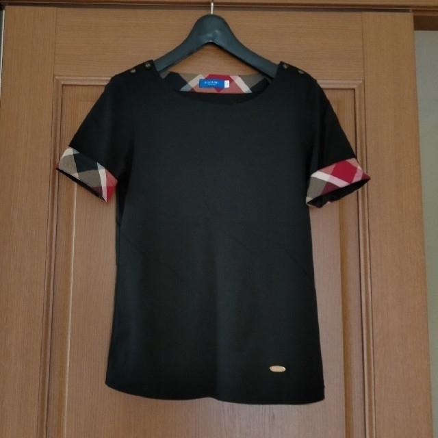 BURBERRY BLUE LABEL(バーバリーブルーレーベル)のブルーレーベルクレストブリッジ トップス Tシャツ レディースのトップス(Tシャツ(半袖/袖なし))の商品写真
