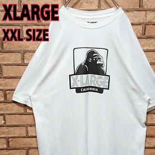 XLARGE - XLARGE フロント スワロフスキー ロゴ  メキシコ製 半袖 Tシャツ