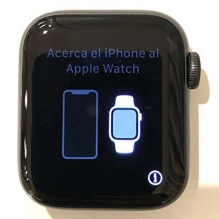 Apple Watch - アップルウォッチ6  40mm   GPSモデル アルミケース スペースグレイ