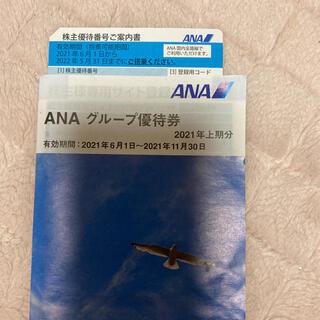 ANA株主優待(2022.5.31まで)(航空券)