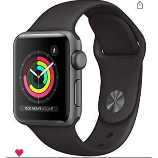 Apple Watch - Apple Watch Series 3(GPSモデル) 38mmスペースグレー