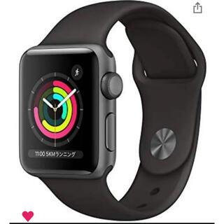 Apple Watch - Apple Watch Series 3(GPSモデル)42mmスペースグレイー
