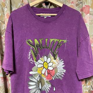 Supreme - salute tシャツ