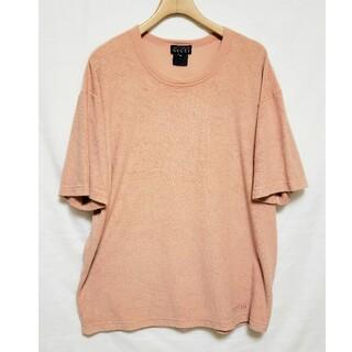 グッチ(Gucci)のオールドグッチ パイル地Tシャツ メンズ M(Tシャツ/カットソー(半袖/袖なし))
