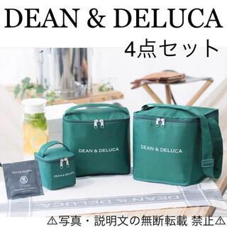 ディーンアンドデルーカ(DEAN & DELUCA)の⭐️新品⭐️【DEAN & DELUCA】保冷バッグ+オリジナル保冷剤★付録❗️(エコバッグ)