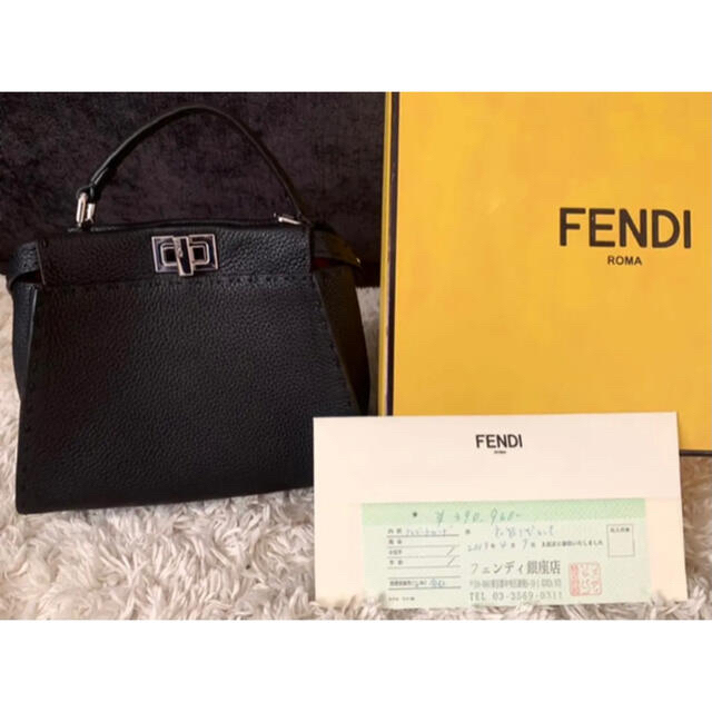FENDI(フェンディ)のFENDIミニピーカブー レディースのバッグ(ハンドバッグ)の商品写真