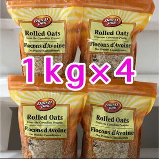 オートミール 1kg×4 健康食品 ダイエット 筋トレ 食物繊維豊富 離乳食