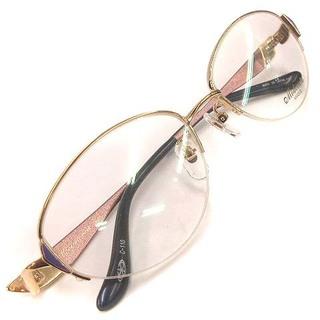 アザー(other)のモデラート MD-08 メガネフレーム 眼鏡 オーバル チタン ハーフリム 金(その他)