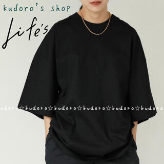 TODAYFUL - TODAYFUL■新品タグ付■Halfsleeve Over T-shirts②