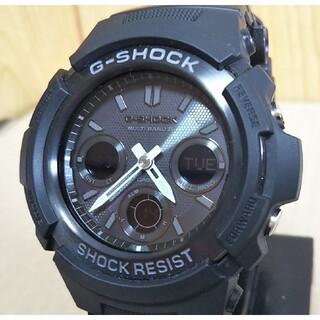G-SHOCK - 美品 CASIO G-SHOCK AWG-M100B 電波 ソーラー 腕時計