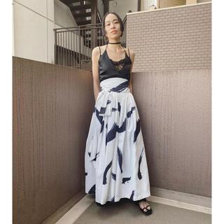 Ameri VINTAGE - HIROSAI ボリュームラップスカート ヒロサイ