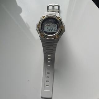 ベビージー(Baby-G)のBabyG ホワイト ソーラー時計(腕時計)