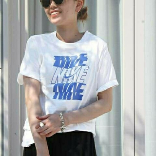 DEUXIEME CLASSE - 新品タグ付 ドゥーズィエムクラス *【NIKE/ナイキ】 LOGO Tシャツ