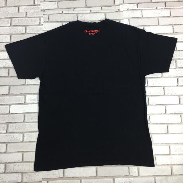 master-piece(マスターピース)の古着 masterpiece マスターピース tシャツ 中指 黒 L メンズのトップス(Tシャツ/カットソー(半袖/袖なし))の商品写真