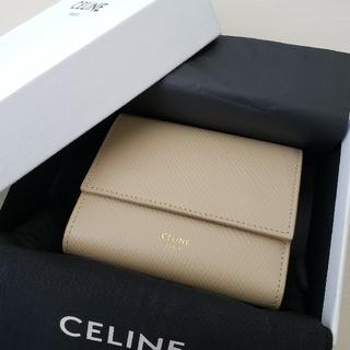 celine - 極美品【セリーヌ】スモール トリフォールド 3つ折り財布 コンパクトウォレット