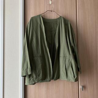 サマンサモスモス(SM2)のジャケット(ノーカラージャケット)