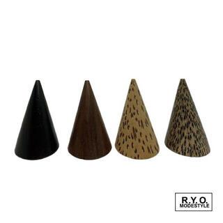 NONO様専用木製円錐 Sサイズ Lサイズ 紫檀(小物入れ)