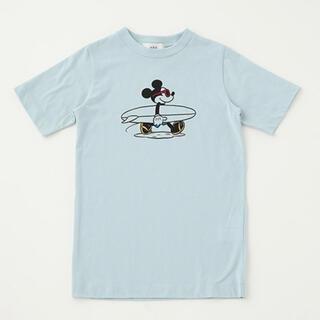 アズールバイマウジー(AZUL by moussy)のサーフミッキーT(Tシャツ/カットソー)