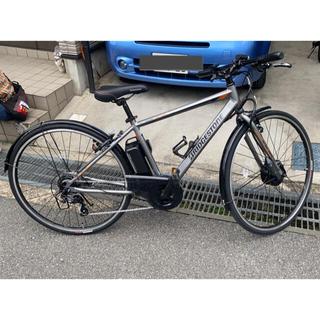 ブリヂストン(BRIDGESTONE)のブリヂストン tb1e 極美品 電動アシスト クロスバイク(自転車本体)