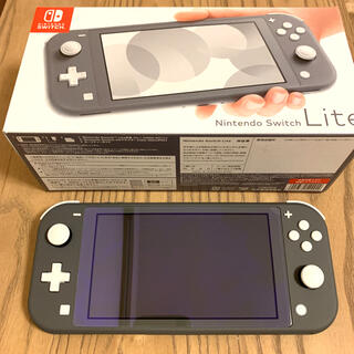 Nintendo Switch - ◯新品同様◯Nintendo Switch Lite グレー