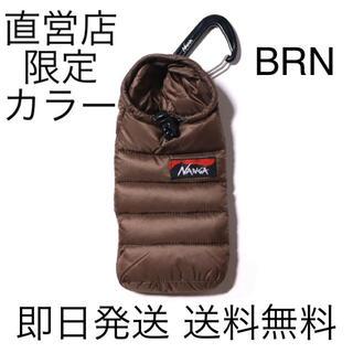 NANGA - 即日発送 送料込み  NANGAミニスリーピングバッグフォンケース BROWN