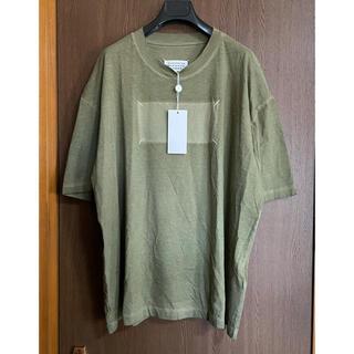 マルタンマルジェラ(Maison Martin Margiela)の52新品 メゾン マルジェラ Memory of 4ステッチ Tシャツ カーキ(Tシャツ/カットソー(半袖/袖なし))