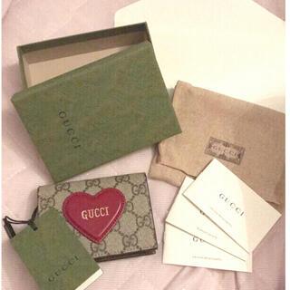 Gucci - GUCCI バレンタイン 財布 新品 タグ付き