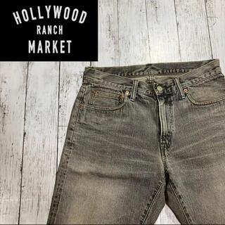 【HR MARKET】ハリウッドランチマーケット デニムハーフパンツ