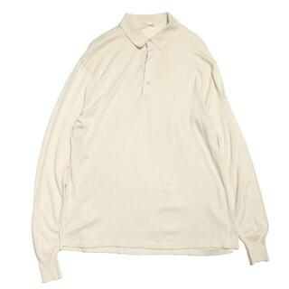 コモリ(COMOLI)のcomoli 16G 襟つきプルオーバーニット(ポロシャツ)