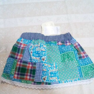 【未使用】女の子 スカート 95
