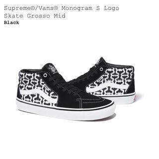 Supreme - Supreme/Vans Skate Grosso Mid 10.5 28.5
