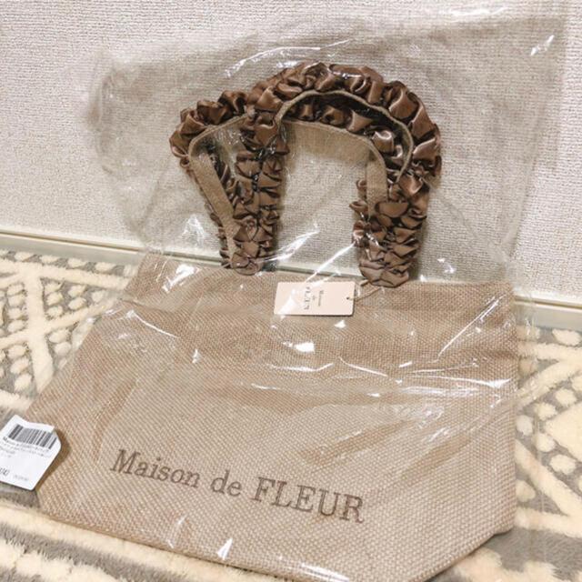 Maison de FLEUR(メゾンドフルール)のトートバッグ レディースのバッグ(トートバッグ)の商品写真