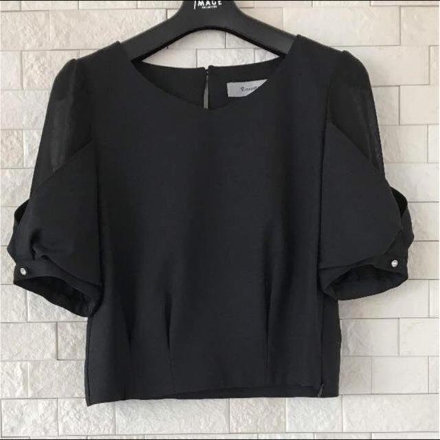 Rirandture(リランドチュール)のリランドチュール ショート丈 ブラウス レディースのトップス(シャツ/ブラウス(半袖/袖なし))の商品写真