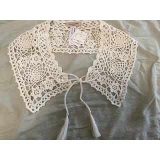 SM2 - サマンサモスモス 手編みかぎ針レース付け衿 付け襟 付け衿