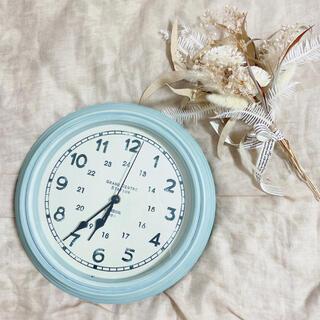 スタディオクリップ(STUDIO CLIP)の壁掛け時計文字盤淡色アンティーク韓国雑貨salyu!(掛時計/柱時計)