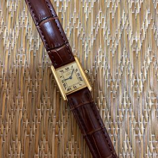カルティエ(Cartier)のマストタンクSM クォーツ(腕時計)
