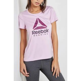 Reebok - リーボック Tシャツ 半袖 レディース  ランニング ポリエステル L トップス