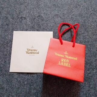 ヴィヴィアンウエストウッド(Vivienne Westwood)のヴィヴィアン・ウエストウッド  ミニ  ショップ袋  ショッパー(ショップ袋)