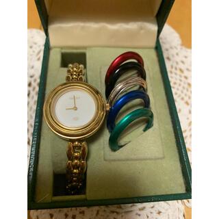 Gucci - GUCCI グッチ レディース 腕時計 チェンジベゼル