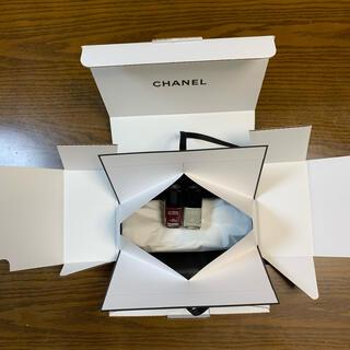 シャネル(CHANEL)のCHANEL シャネル ネイル マニキュア サンプル 箱 袋(マニキュア)