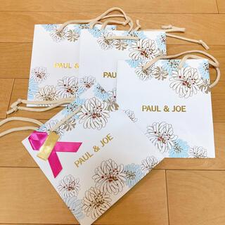 ポールアンドジョー(PAUL & JOE)のPAUL&JOE ショッパー 4枚(ショップ袋)
