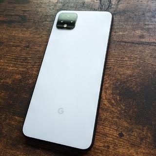 Google Pixel - Simフリー Google Pixel 4   ホワイト 本体のみ
