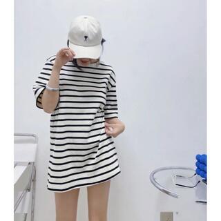ジルサンダー(Jil Sander)のMサイズ ジルサンダーオーバーサイズ ロゴ Tシャツ(Tシャツ(半袖/袖なし))