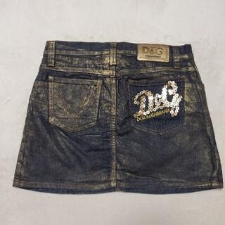 ドルチェアンドガッバーナ(DOLCE&GABBANA)のD&G デニム スカート(ミニスカート)