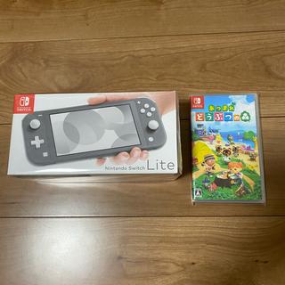 Nintendo Switch - ニンテンドースイッチライト+あつまれどうぶつの森