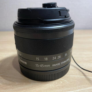 Canon - Canon EF-M15-45F3.5-6.3 IS STM グラファイト